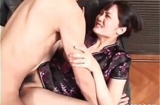 Asian beauty gets hairy twat fucked hard edit