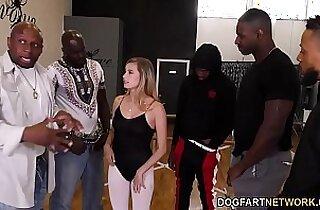 Carolina Sweets Interracial Gangbang