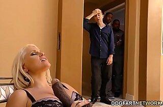 Alena Croft cheats on her husband with mamba black guys