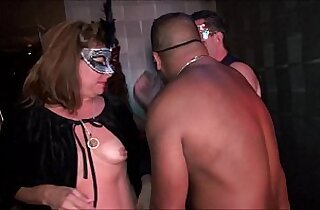 Young swingers hot MILFs go wild in Trapeze Club NEW FULL video now on RED
