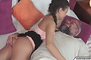 romantic time anal sex with grandpa