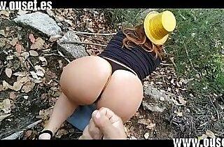 Chica borracha con gran culo folla en el bosque. Nuevos videos personales y exclusivos en