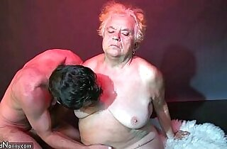 OldNanny Fat big granny have a sex with her young guy