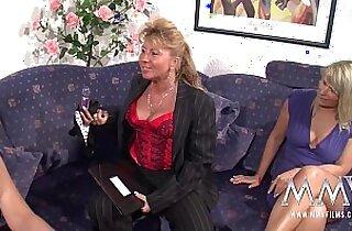 MMV FILMS Mature Lesbian Threesome