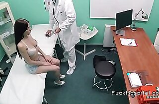Big cock doctor recording sex with doctor and patient
