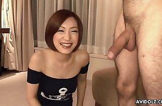 Nanako Haruna has never seen a non Asian dick before