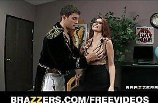Sexy redhead librarian Monique Alexander daydreams about sex
