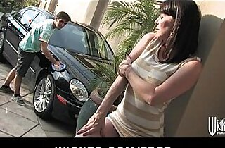 Lonely divorced MILF gets rammed in the ass by a younger man