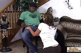 Phoenix Marie fucks a black guy while hubby is away