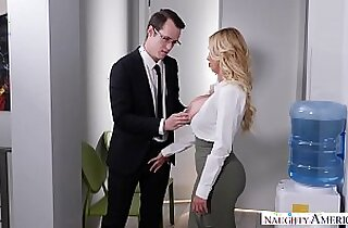 NAUGHTY AMERICA TOO MUCH OFFICE SEX