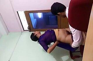 Indian College professor sex in staff room