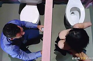 Noelle Easton love bathroom gloryholes