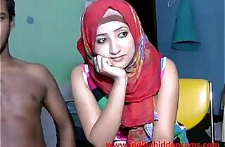 newly married indian couple live on cam show