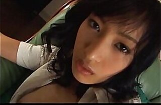 Eager Japanese babe cant wait to suck her man off