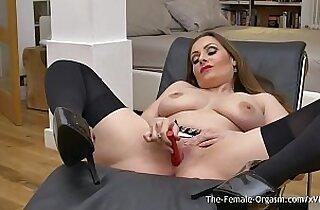 boobs, brunette, cream, emo punk, fingerfucked, Giant boob, lingerie, masturbating