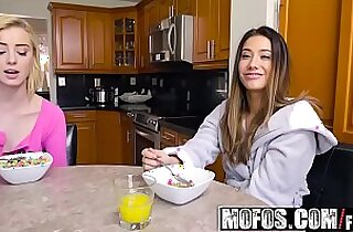 Share My BF Snowballing Stepsister and GF starring Levi Cash and Eva Lovia and Haley Reed