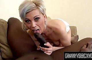 Granny Vs BBC Older Kathy White Makes Her Black Bull Cum Inside