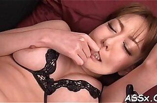 Nasty and lusty oriental anal play
