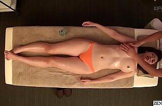 JAV star Asahi Mizuno CMNF erotic massage Subtitled