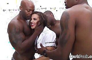 Brutal monster mamba cock anal gangbang Keisha Grey